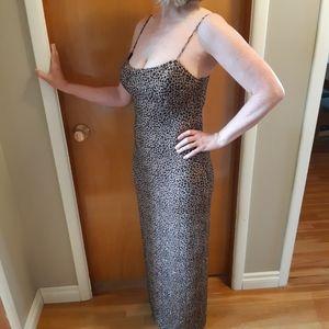 Sparkle Leopard Gown
